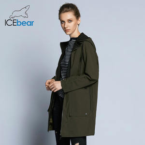 a49a4774bea53 ICEbear 2018 new woman trench coat fashion with full sleeves design women  coats autumn brand casual plus size coat GWF18006D