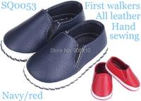 Marka yeni! bebek ayakkabıları deri toka ile kız erkek yumuşak taban ilk yürüyüşe beyaz gül kahverengi el yapımı prewalker toptan perakende
