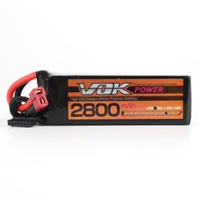 For RC Racing Quadcopter Drone NEW XT60 / T-Plug Discharger Plug VOK 6S Lipo Battery 22.2V 2800mAh 35C Lipo Battery Universal