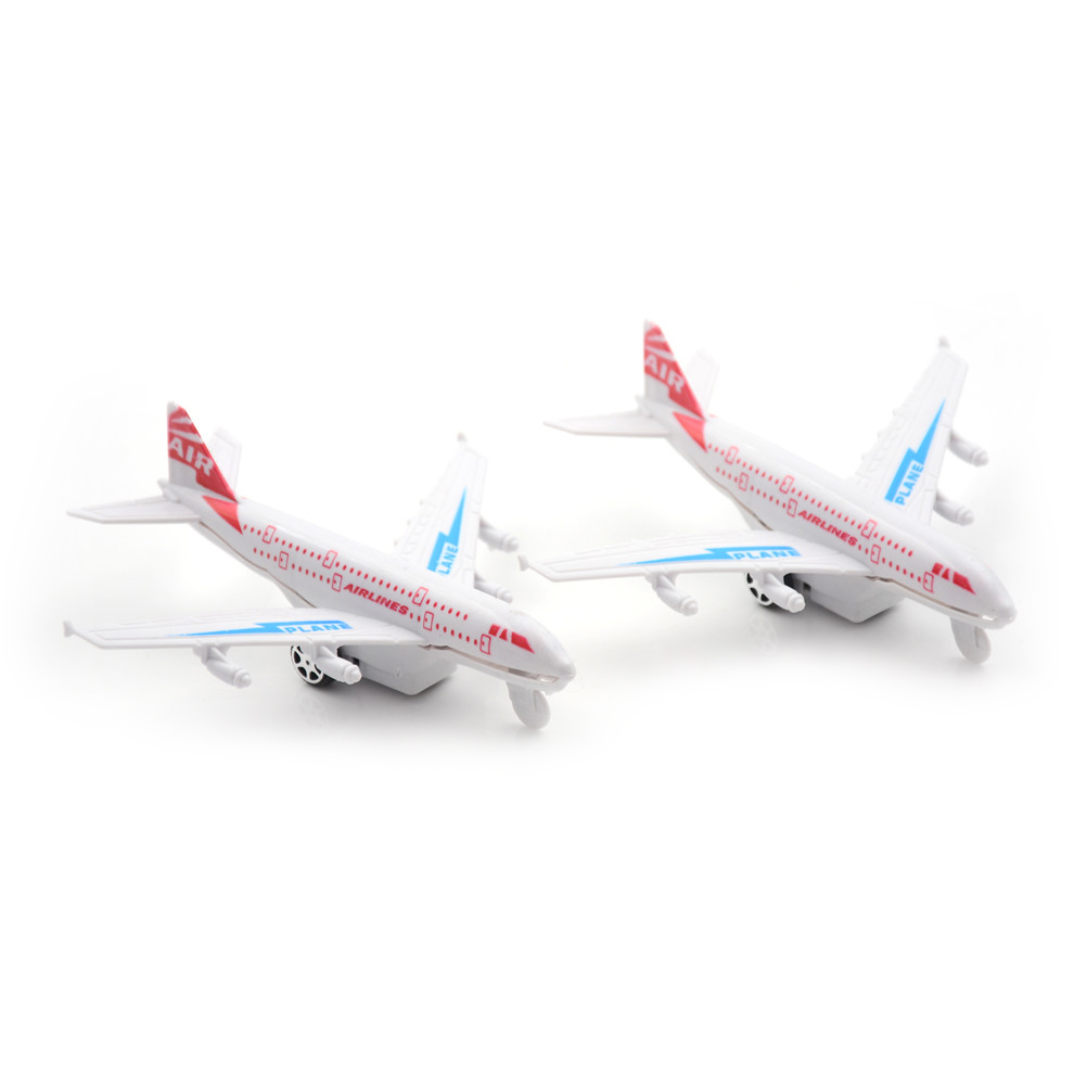 Airlines A380 Boeing 777 Plane Aircraft Model Plastic Airbus Airplane Toys For Baby Gifts image