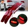 Rear Lower Bumper Tail Light Stop Lamp Bulbs Reverse Fog Lamp Assembly For Audi Q5 2009