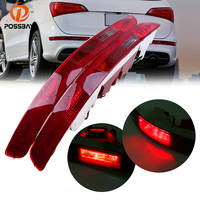 Rear Lower Bumper Tail Light Stop Lamp Bulbs Reverse Fog Lamp Assembly For Audi Q5 2009