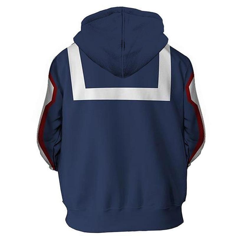3D Hooded My Hero Academia Boku no Hero Coat Midoriya Jacket Sweatshirt Kohei Horikoshi gym Sweatshirt Hoodie C273 in Hoodies amp Sweatshirts from Women 39 s Clothing