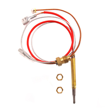 Hot Sale Outdoor Patio Heater M6x0.75 Head Thread With M8X1 End Connection Nuts Thermocouple 410Mm 10pcs lot m8x1 head length 600mm and nuts 8mm universal thermocouple for gas water heater 600mm
