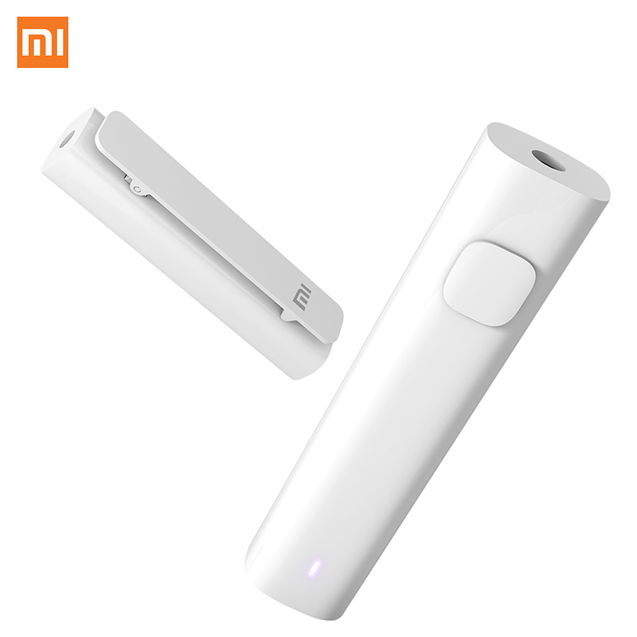 Xiaomi Bluetooth 4.2 4-5Hours Battery Life 3.5mm Jack AUX Audio Musci Wireless Receiver Adapter Speaker Earphone Headphone аксессуар continent 3 5 jack 2x3 5 jack aux 102rd
