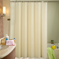 Color TOILET Shower Curtain Shading Thickening Mould Proof Shower Room Window Curtains Door Cord Fabric Hang The Curtain