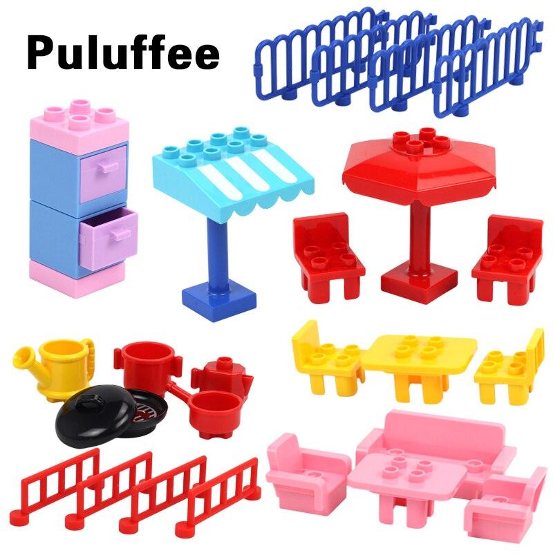 building blocks Duplos bricks Compatible with Duplos Parts Accessories