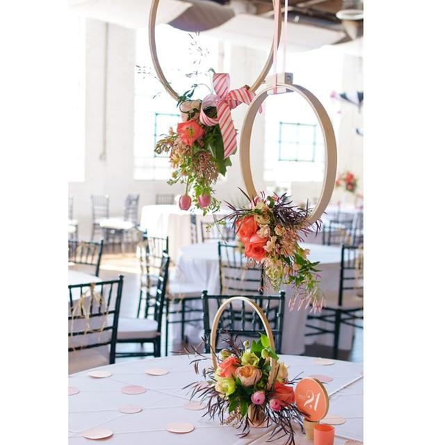 Bordado bambú aros Cruz sticth marcos para la boda ideas Navidad ...