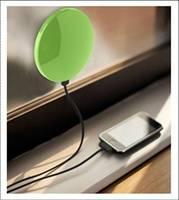 1800 mah工場ソーラー携帯充電器/ウィンドウソーラー充電器/卸売ソーラー携帯電話、充電器のためのiphone/lg/ブラックベリ