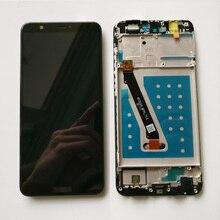 Pantalla LCD completa de 100% pulgadas para Huawei Nova Lite 2 FIG LA1, montaje de digitalizador con pantalla táctil de repuesto y Marco, 5,6