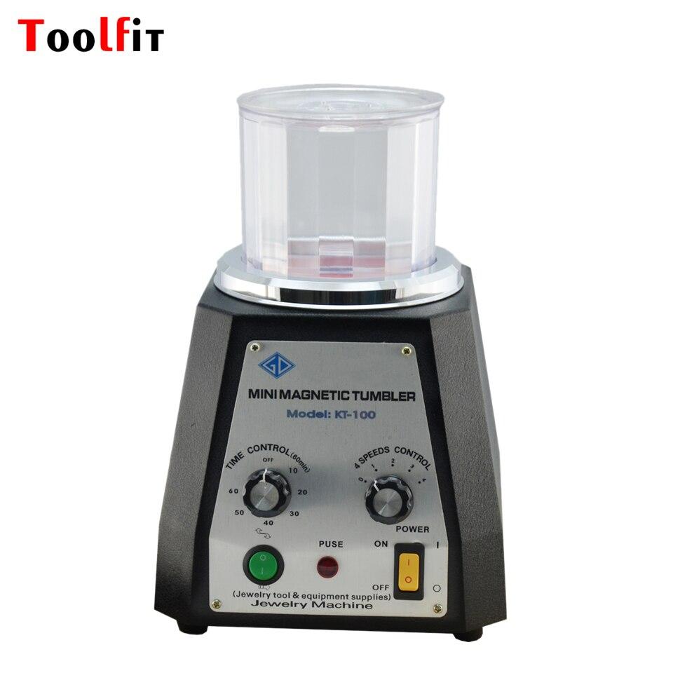 Toolfit KT-100 Magnetická sklenička 220 V Magnetický lešticí - Elektrické nářadí - Fotografie 1