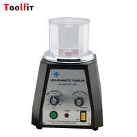 Toolfit KT 100 Magnetic Tumbler 220V Magnetic Polishing Machine Jewelry Polishing & Finishing Tool Equipments Power Tools