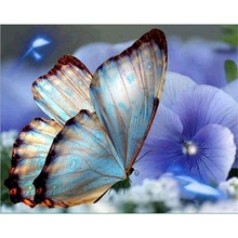Painting Insect Butterfly Full Square Drill DIY Diamond Handmade Wall Sticker Embroidery Sale Picture Mosaic Home Decoration