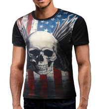 Male 2017 New Brand Short Sleeve 3D Print O- Neck T Shirt O-Neck Slim Men T-Shirt Tops Fashion Mens Tee Shirts XXL