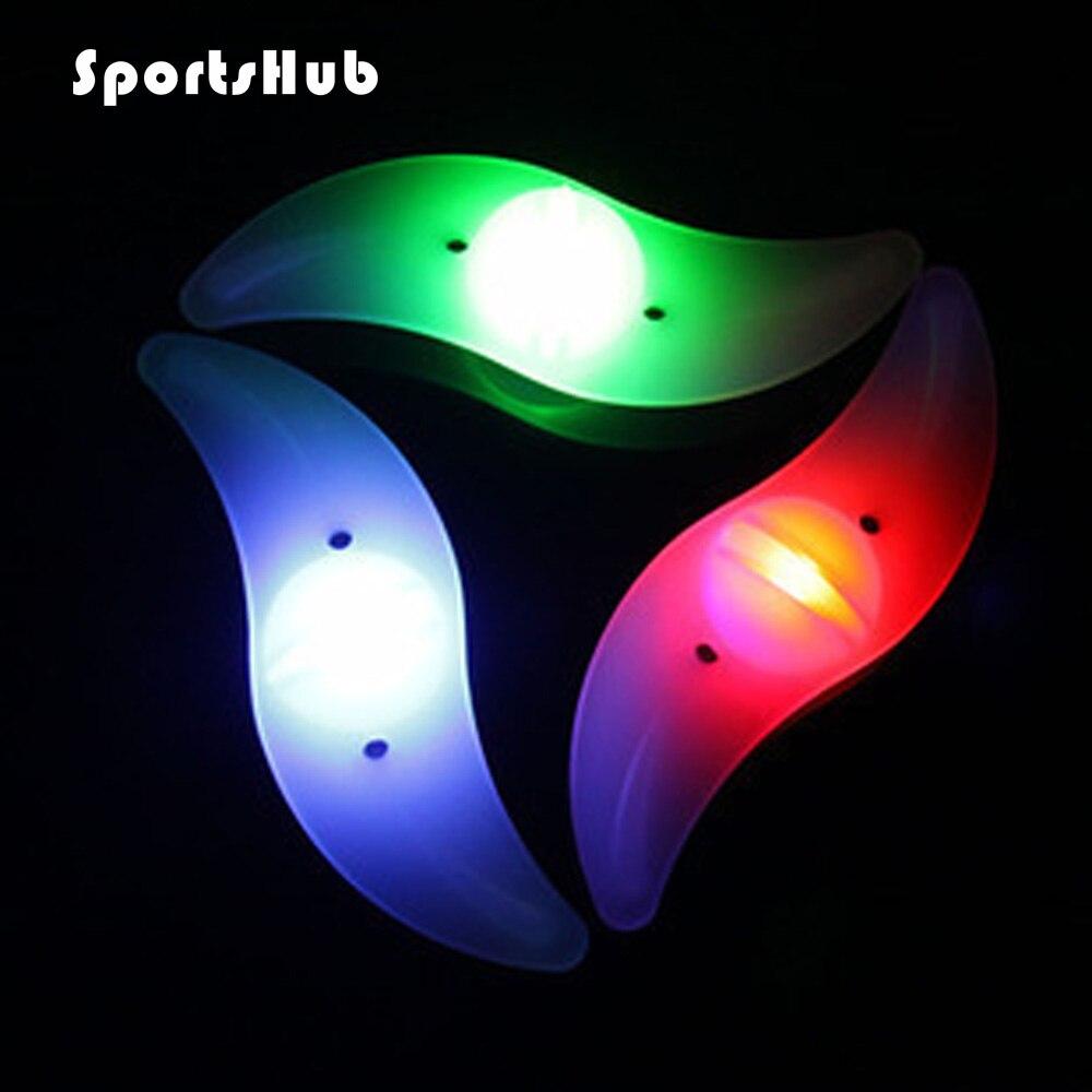 SPORTSHUB 1PC Waterproof LED Flashing Lamp Cycling Bicycle Bike Lights Warning Alarm Light Luces LED Ciclismo Light NR0005