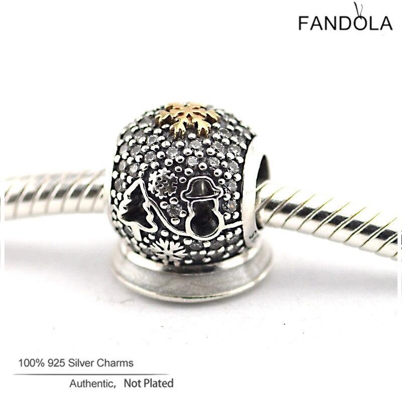100% 925 Sterling Silver Black Friday 2015 Charms Beads for Jewelry Making Fits Fandola Diy Women Jewellery Bracelets