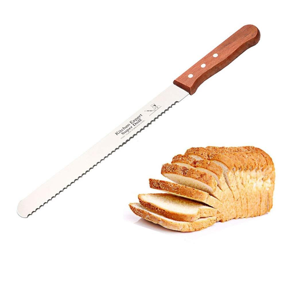 Knife-Blade Bread-Cake-Knife 14-Inch Toast-Cutter Cake-Tools 12 Spatula Pastry-Cream