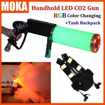 Etap FX Co2 cryo efekt podręczny doprowadziły Co2 Jet pistolet CO2 jet maszyna plecak z wężem o długości 3 m dla pistolet jet Fedex wysyłka