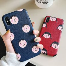 цены Soft TPU Case Couples Cover For iphone XR Xs MAX X XS 7 8 Plus Cases Embossed TPU Phone Cover For iphone 6 6s Plus Cute Case