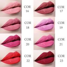 MISS ROSE 8 Colors Lipstick Matte Waterproof Long-lasting Makeup Pen Velvet Silky Pencil Lip Sexy Moisturizer Cosmetics