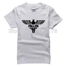Men New Brand Fashion Fallen Eagle T Shirts Streetwear Cotton T-shirts Tops Tees Free Shipping Male Quality Print Tshirts