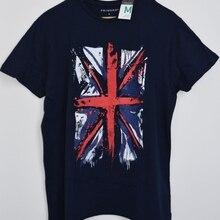 3d7a5dfe Primark Union Jack British Flag MENS T SHIRT Blue GB UK Sizes M - XXXL(