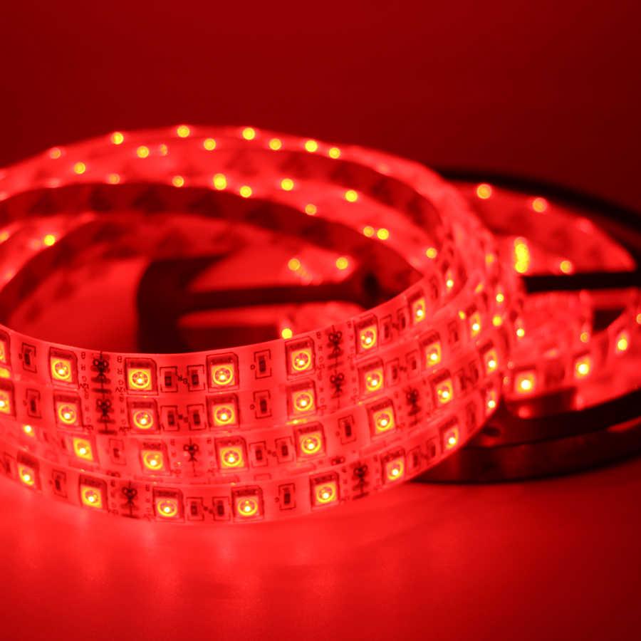 Listwy rgb led Light pełny zestaw do komputera obudowa komputera 1m 2m taśma oświetleniowa w tle 5050 SMD wodoodporna lampa + pilot 24key