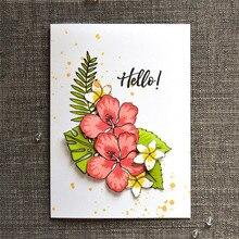 Naifumodo Flower Metal Cutting Dies Cut Die Mold Flowers Stamps Scrapbooking Paper Craft Knife Mould Blade Punch Stencils
