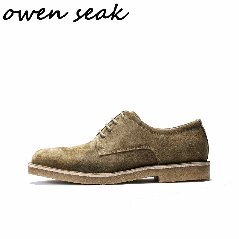 marrom Homens Seak Casuais Moda Planas De Vaca up Lace Couro Da Pretos Luxo Tênis Verão Sapatos Preto Dos Formadores Owen dHXFwtqH