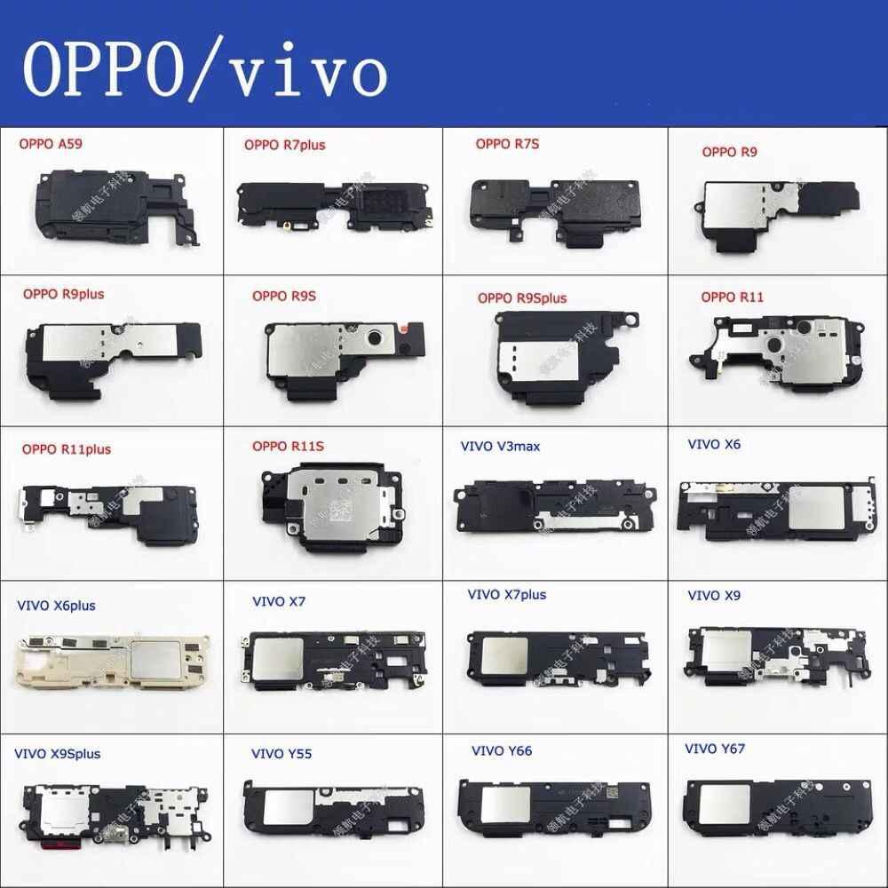 OPPO 生体内 X5L X6 X6P X7 X7P Y55 Y66 Y67 R11S R11PLUS X9SP X9 リンガースピーカーアセンブリフレックスケーブル振動モータマイクイヤホン