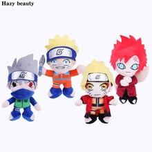 25cm Anime Naruto Uzumaki Naruto Plush Doll Toy Uzumaki Naruto Cosplay Costume Plush Soft Stuffed Toys Gift for Kids Children