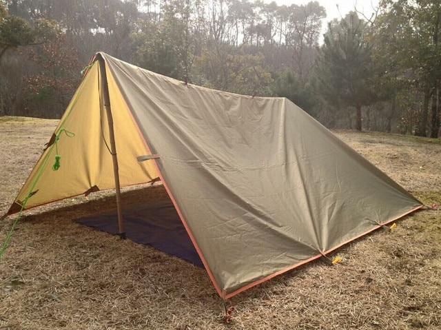 Outdoor Brand Multifunction Waterproof Windproof Shade Rain Shed Camping Travel Awning Mat Folding PU Portable