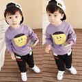 New year Boys clothing set kids sports suit children tracksuit boys set cartoon Plus velvet Christmas costumes for girls