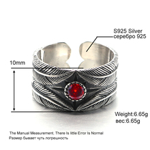 Pure 925 Sterling Silver Takahashi Goros Feathers Opening Ring Women Birthday Gift Jewelry 184