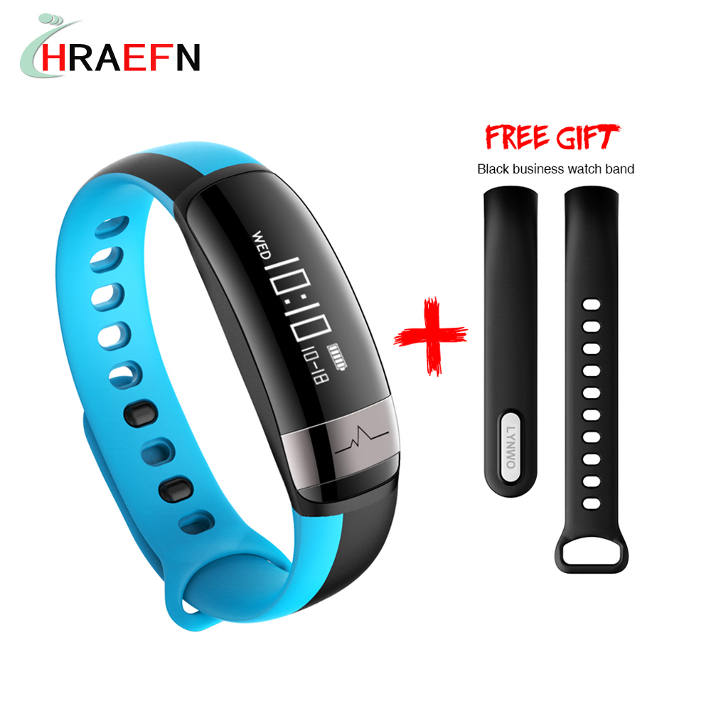 M6 Bluetooth Sport Heart Rate font b Smart b font Band with Blood Pressure Monitor IP67