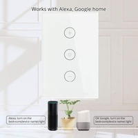 Tuya Wifi Dimmer Switch US Led Dimmer 220V 110V Smart Touch light switch Bulb Dimmer works With Amazon Alexa Google Home