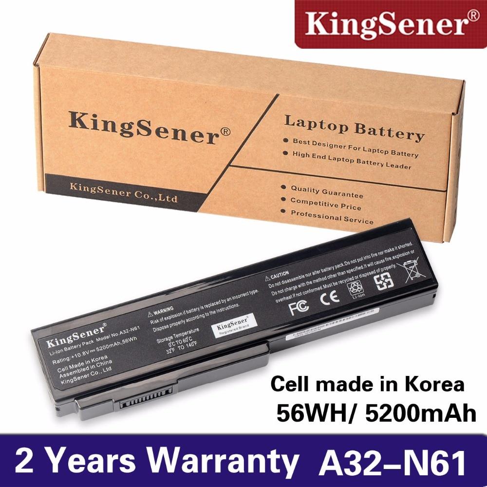 KingSener A32-N61 Battery for Asus N61 N61J N61D N61V N61VG N61JA N61JV M50s N43S N43JF N43JQ N53 N53S N53SV A32-M50 A32-X64 jigu 6cells laptop battery for asus n61 n61j n61jq n61v n61vg n61ja n61jv n53 m50 m50s n53s a32 m50 n61 x64 a33 m50