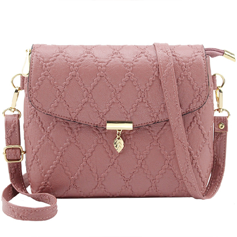 Travel Bags Leather Pu Quilted Bag