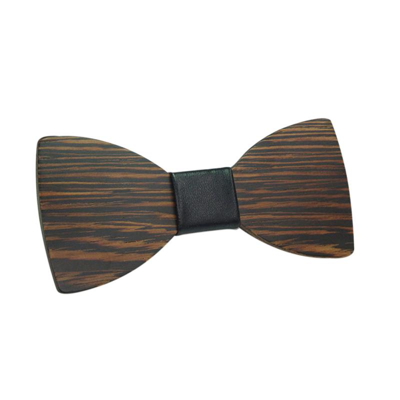 Men Boy Wooden Bow Tie Party Shirts Clothes Bowties Butterfly Wooden Bowties Hot Collar Bow Tie Clothing Accessories