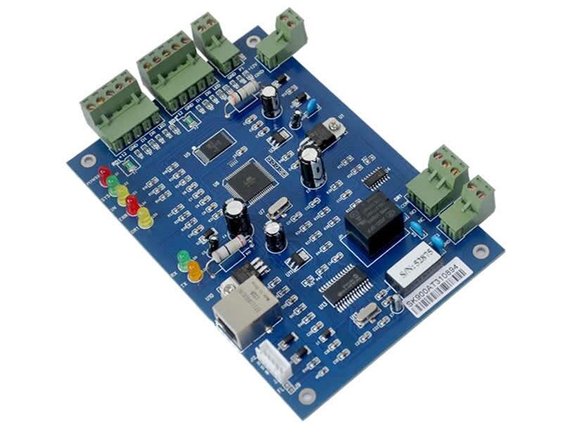 TCP IP Controlador de Acesso única Porta kit com caso o poder 110 V/220 v fonte de alimentação suporte 20K Usuários 100K Eventos sn: b01 set - 5