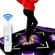 Novo tapete de dança tapete de dança cobertor yoga extra grande Movimento Sensing tapete para tv pc pad TV jogar jogos de Fitness, 2 pcs controlador remoto