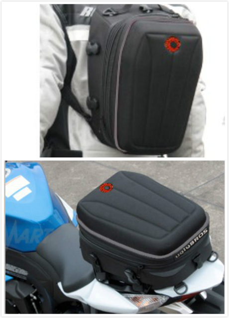 New Motorcycle Bag Top Case  Uglybros Ubb07 Back Seat Backpack Outdoor Sports Multi-function
