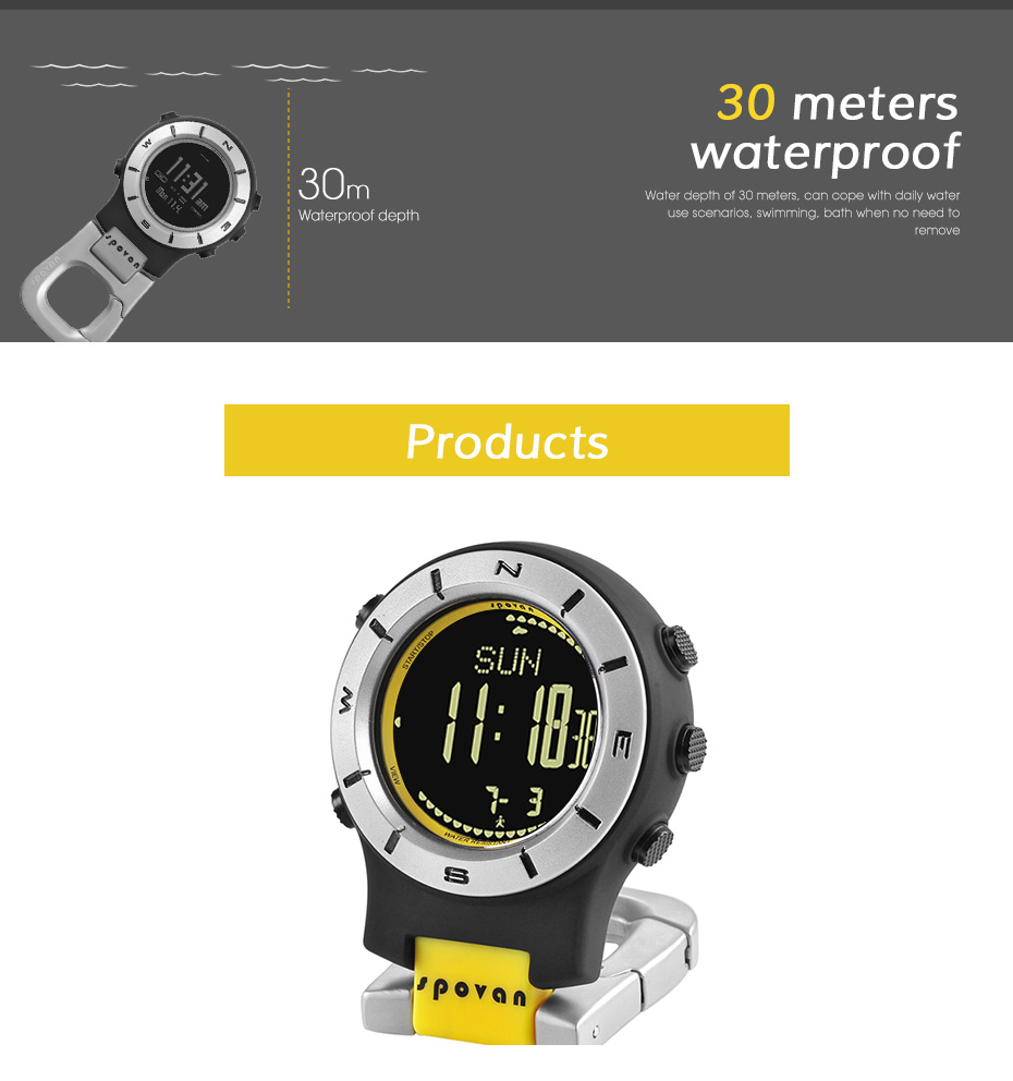 Multifunctional outdoor sports compass watch, compass alarm countdown stopwatch EL highlight backlight watchMultifunctional outdoor sports compass watch, compass alarm countdown stopwatch EL highlight backlight watch
