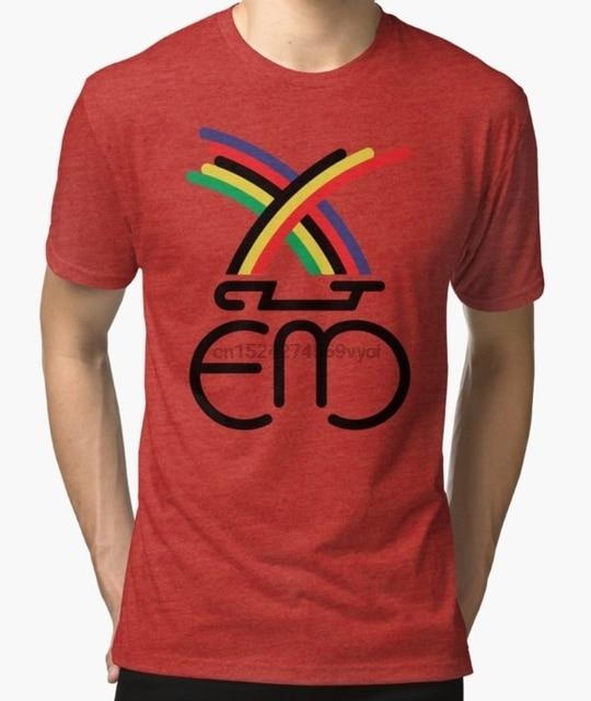 49de8c391 100% cotton o-neck custom printed t-shirt Classic car Eddy Merckx women  tshirts
