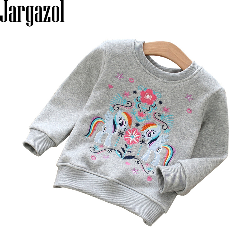 Horse Thermos Boys Girls Pullover Sweaters Crewneck Sweatshirts Clothes for 2-6 Years Old Children