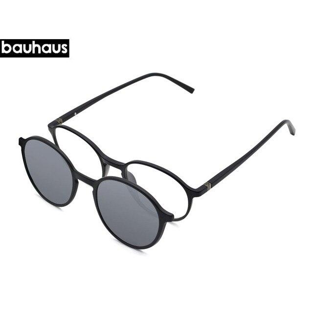 f2f9208ef1c Ultem Vintage Round Sun Glasses Women Magnetic Polarized Prescription  Driver Sunglasses For Myopia Lens With Clip