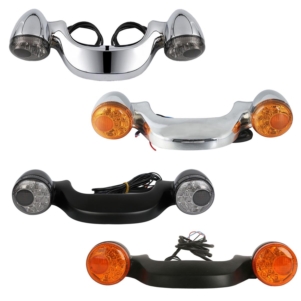 Clignotant de barre de lumière LED de frein arrière de moto pour la glisse de route de rue de Harley FLTRX FLHX 2010-2018 11