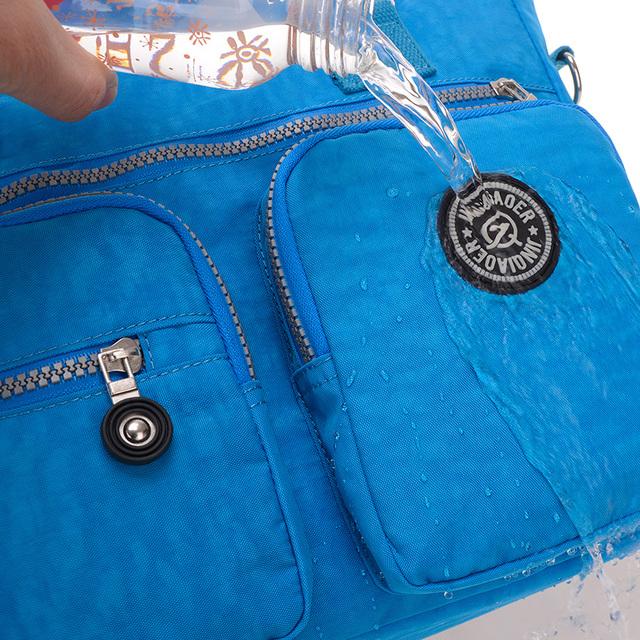 JINQIAOER Women Messenger Bag Ladies Crossbody Bags For Women Waterproof handbags Nylon Large Shoulder Bag Female Bolsa Feminina