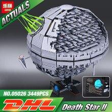 NEW LEPIN 05026 Star Wars UCS Death Star II The second generation 3449pcs Building Block Bricks Toys Compatible 10143(China (Mainland))