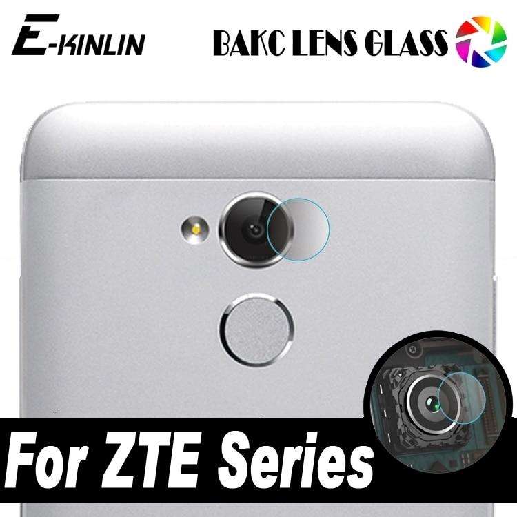 Back Camera Lens Transparent Tempered Glass For ZTE Blade Hawkeye A520 A2 L5 Plus X Max XL Axon 7 mini Tempo Go Protector Film